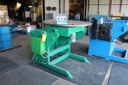 "WELDING POSITIONER, 5,000 LBS CAP, 51"" FACEPLATE"