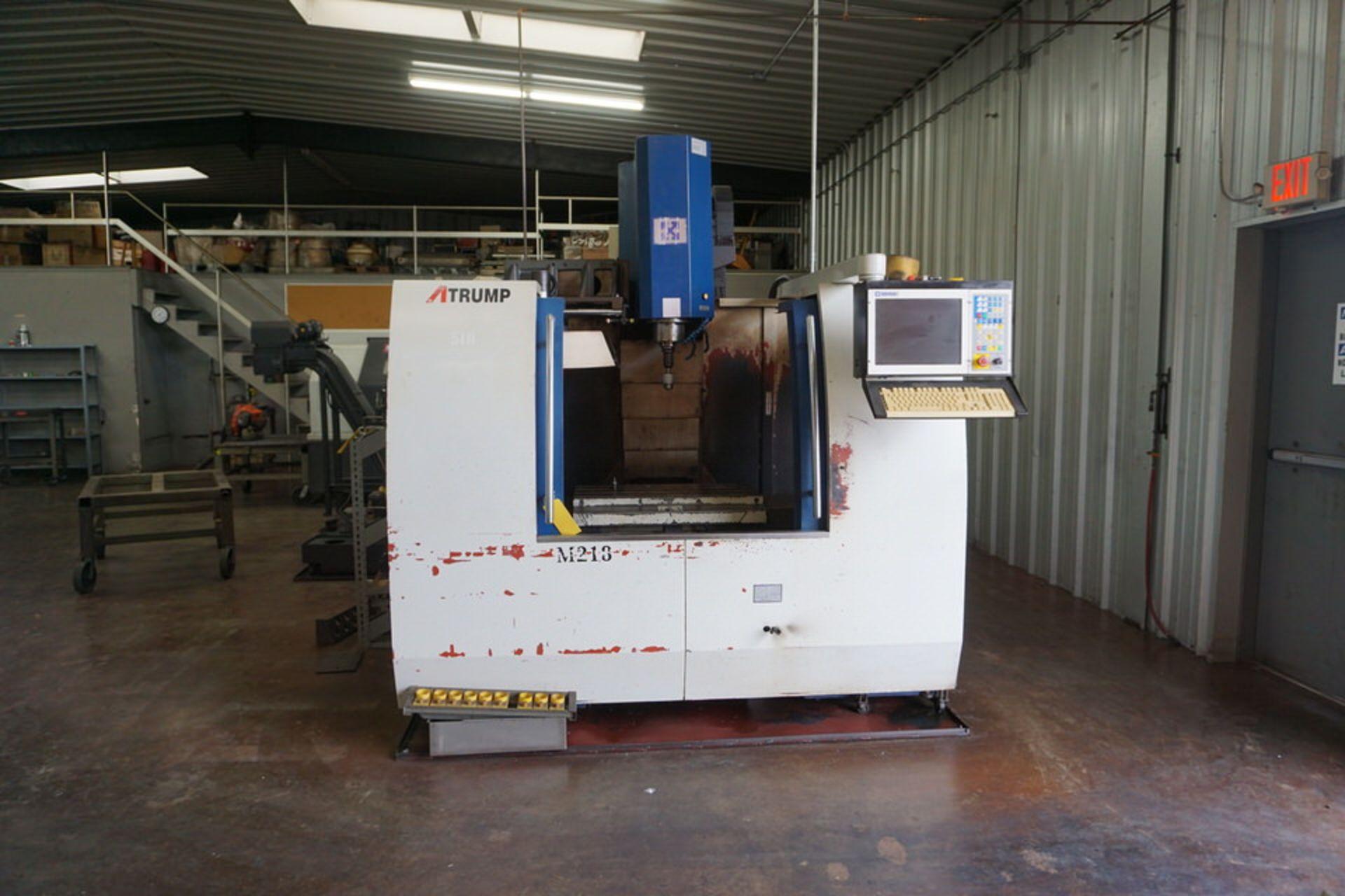 ATRUMP M213 CNC VERTICAL MACHINING CENTER W/ CENTROID CONTROL