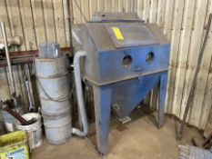 Sand Blasting Cabinet with Tank