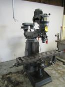 Beaver Machine Model VBRP Vertical Milling Machine