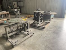 """Lot of 3 Positioners: 54"""" - 25"""" - 24"""""""