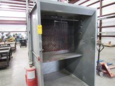 Free-Standing Paint Booth