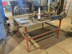 Lot of 2: HD Metal Shop Table