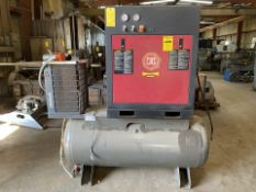 150 PSI Compressed Air Systems (CAS) Model RS103ENC-CRD Tank Mounted Air Compressor with Deltech SPX