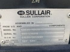 Sullair Model LS12050HH/A Air Compressor with Air Dryer