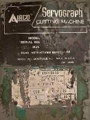 Airco Servograph Cutting Machine/Burning Table Model 60 x 120