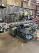 Kearney & Trecker Milwaukee No. 4 Plain Horizontal Milling Machine