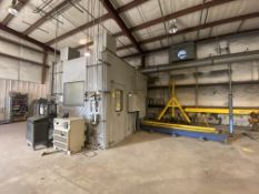 Metal Spray Coating Booth, ABB Robot Foundry Plus, Model IRB 4400 M2000