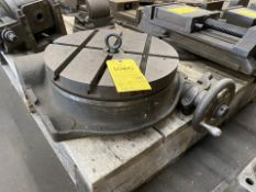 """16"""" Rotary Table Chuck with 3 T-slots"""