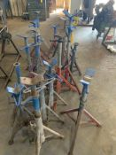 Lot of Assorted Pipe Holders and Stands