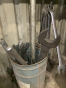 Lot of Miscellaneous Heavy Duty Tools (Wrenches, Sockets, etc.)