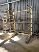 Cantilever Rack, Single Side - No Contents