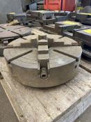 """15"""" Hartford 4-Jaw Chuck with 3"""" Bore"""