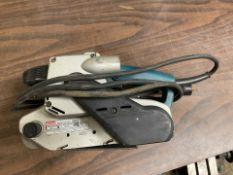 Makita Model 9903 Electric Belt Sander