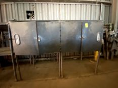 Rod Containment Unit, (2) Double Door opening, insulated