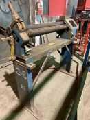 Wysong Model 336-HR Manual 3-Roll Plate Rolling Machine