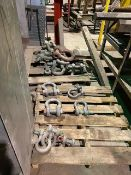 Lot of Shackles and Turn Buckles on 2 Pallets