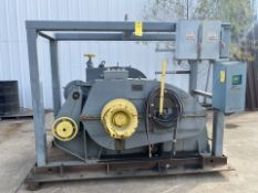 """Great Lakes Winch Unit S/N 344.H.104 with spool 1/2"""" metal cable"""