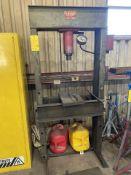 50 Ton Carolina Model CBP 1200 Hydraulic H-Frame Press