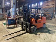 12,000 lb capacity Hyster Model S120XL Forklift