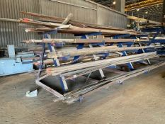 Heavy Duty Cantilever Rack w/contents