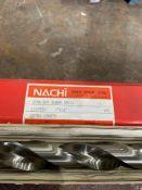 "Nachi High Speed Steel Straight Shank Drill Bit, 1"" x 18"""