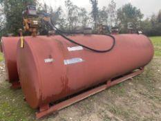 1000 Gallon Ultra Fab Above Ground Fuel Tank