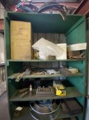 Wooden Shelf with Welding Items
