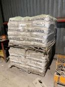 Lot of 2 Pallets of Sand Express #4 Blasting Sand