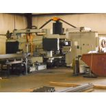 2003 FICEP DRILL/SAW LINE COMBO w/ Approx 60' Infeed & 40' Outfeed Conveyor *DELAYED REMOVAL: END