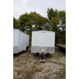 2016 6' x 15' UNIVERSAL TRAILER ENCLOSED TRAILER, MDL: PPTX14DT2 (MUST BE REMOVED BY DECEMBER 22)