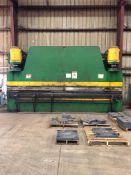 CHICAGO DREIS & KRUMP 400 F-16 PRESS BRAKE, 400 TON CAP (LOCATION: ALABAMA)