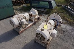 (2) RELIANCE DUTY MASTER A-C MOTOR, RPM: 1770