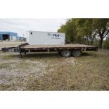 2006 8' x 20' APACHE TRAILER, 12,000 LB MAX LOAD (MUST BE REMOVED BY DECEMBER 22)