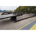 """DOUBLE DROP TRAILER TOP DECK: 102"""" X 10', WELL: 102"""" X 29', TAIL: 7'6"""" X 102"""""""