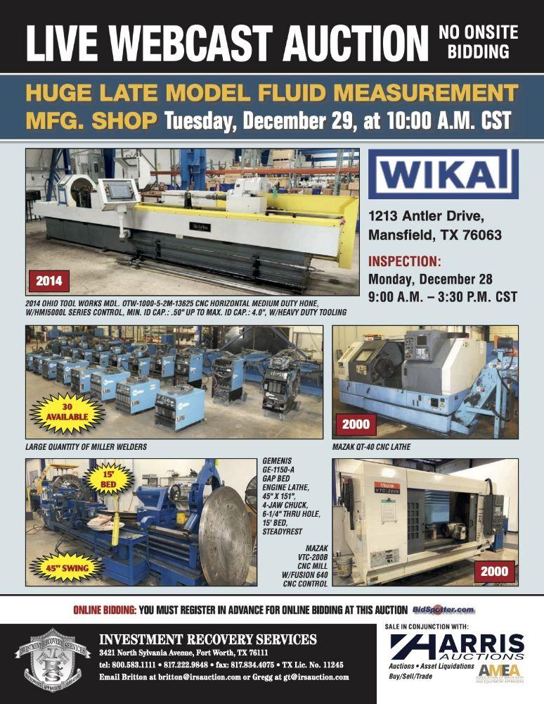 WIKA Instrument - Flow Iron/Meter Run Manufacturer