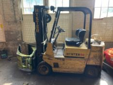 Hyster S50XL LPG Clamp Truck
