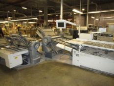 """2006 Heidelberg Stahl TH-82 30"""" Continuous Fed Folder, 4/4/4, s/n FH.ESCA-01382 w/8 Page Roll-A-Way,"""