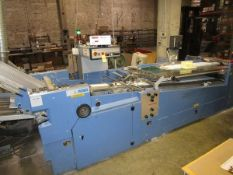 MBO B30-S130/4 4 Plate Perfection Series Cont. Fed Folder, Order #15034, s/n V02/28, w/8 Page Roll-