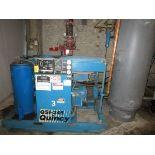 Quincy QS1245ANA31A 50 HP Rotary Air Compressor, s/n 94539
