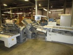 """2006 Heidelberg TH-82 30"""" Continuous Fed Folder, s/n TH-82 FH.HACO-00837M, w/8 Page Roll-A-Way, s/"""