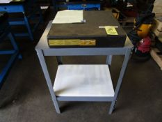 """Doall 12"""" x 12"""" x 3"""" Granite Surface Plate w/Stand"""