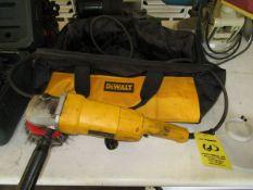 Dewalt DW840 Angle Grinder w/Bag