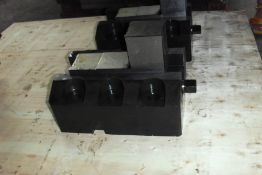 """Set of (4) 12"""" x 7"""" Boring Mill Jaws (Not Used in Box)"""