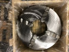 """Bison 20"""" 4-Jaw Combination Chuck Mod. 4805-20 (Not Used in Crate); List Price $11,120.00"""