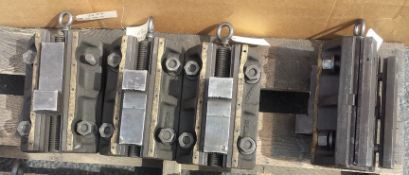 """Set of 12"""" Boring Mill Jaws"""