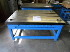 Jash Cast Iron T-Slot Table, Mod. 1500x1000 mm (Not Used)