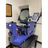 MITUTOYO PH-A14 Optical Comparator s/n 127401803, w/QM-Data 200 Controller & Steel Table Stand