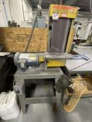 "KALAMAZOO Vertical Belt Sander w/stand (3 HP), 6"" Wide Belts"