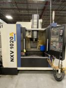 "2014 YCM NXV1020A 5-Axis CNC Vertical Machining Center s/n 0193, 40"" x 20.25"" x 25"" Travels, Fanuc"